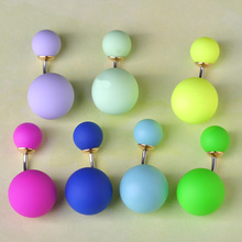 Fashion Body Jewelry Multicolor Ball Belly Button Ring Bead Navel Piercing Jewelry with Stainless Steel
