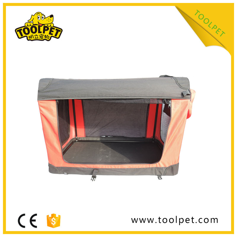 Fashionable Eco-friendly pet crate soft big dog kennels for sale