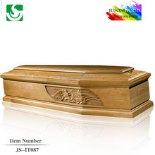 JS-IT087 Wood coffin beds coffin sales