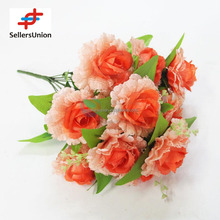 No.1 yiwu exporting realistic looking rose lace artificial flower commission agent wanted