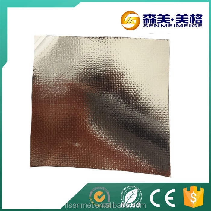 Reflective aluminum foil insulation sun reflection aluminium foil square meter