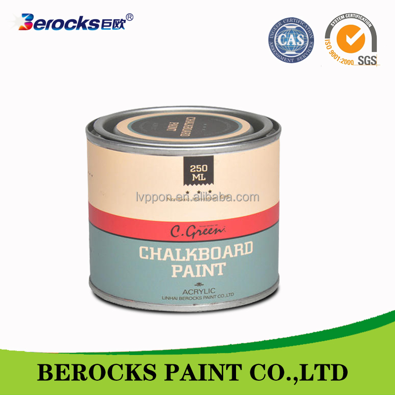250ml wholesales Chalkboard coating for wall