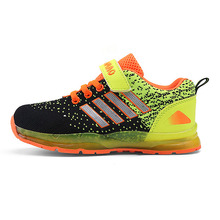 New fashion light up kids led shoes luminous girl boys shoes color glowing casual with simulation sole charge for Children