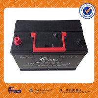 wholesale price jis standard N60MF 55d23r mf small car batteries 12v 60ah for united states