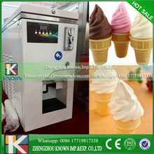Temperature controlled automatic soft ice cream vending machine for sale