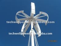 Maglev designed vertical axis wind mill 3kw/5kw