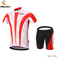 Newest Men bicycle clothes MTB team cycling bib pants short sleeve t shirt sports wear design
