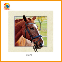 Chinese producing horses lenticular 5d picture for home decor wallpaper 3d