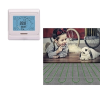 CE listed China underfloor heating system 150w/m2 200w/m2