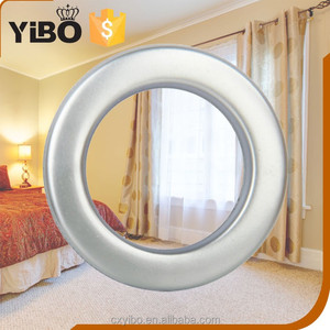 Plastic curtain accessories with curtain ring