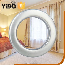 Small beautiful plastic curtain accessories with curtain ring