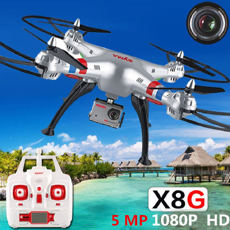 2016 New Products RC Quadcopter Syma X8 X8c update Remote Control Drone Syma X8g with 8MP 1080P Camera