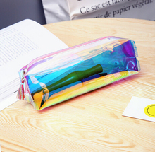 Custom printed PVC ziplock clear pencil pouch