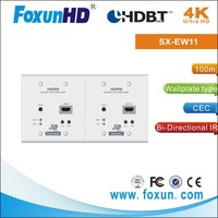 HDMI wallplate extender adopt HD Base T