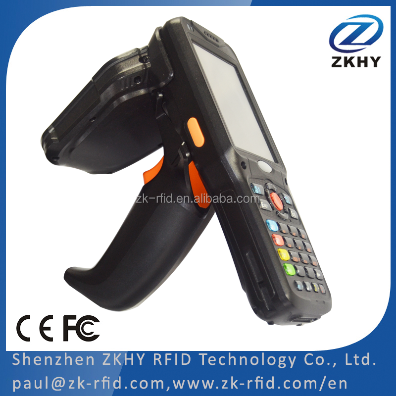 Inventory Management WinCE Android UHF RFID Handheld Reader Barcode Scanner