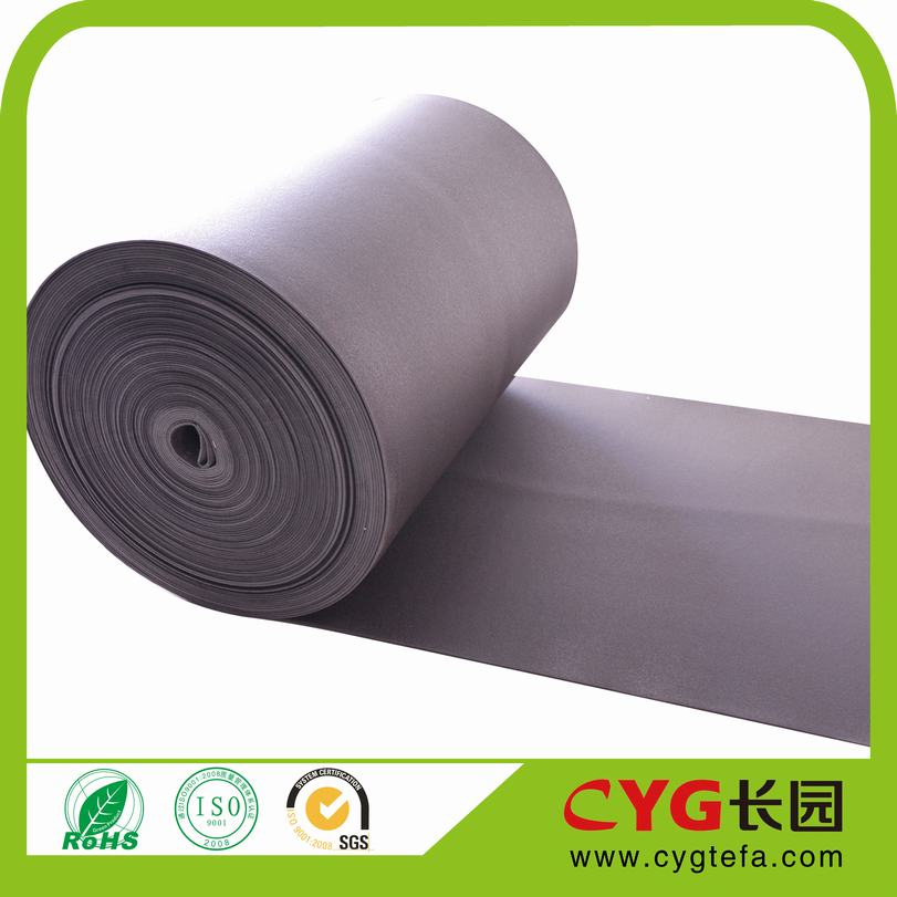 PE Material and excellent sound-insulation PE Foam sheet