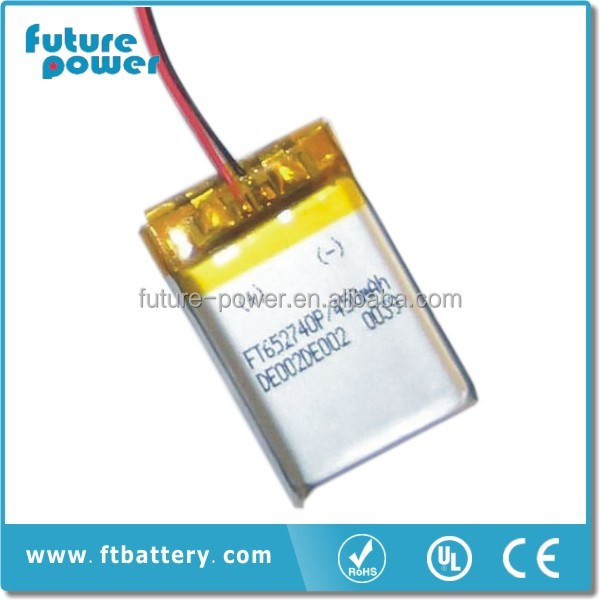 Li-ion 3.7v 470mah li-polymer Rechargeable Batteries