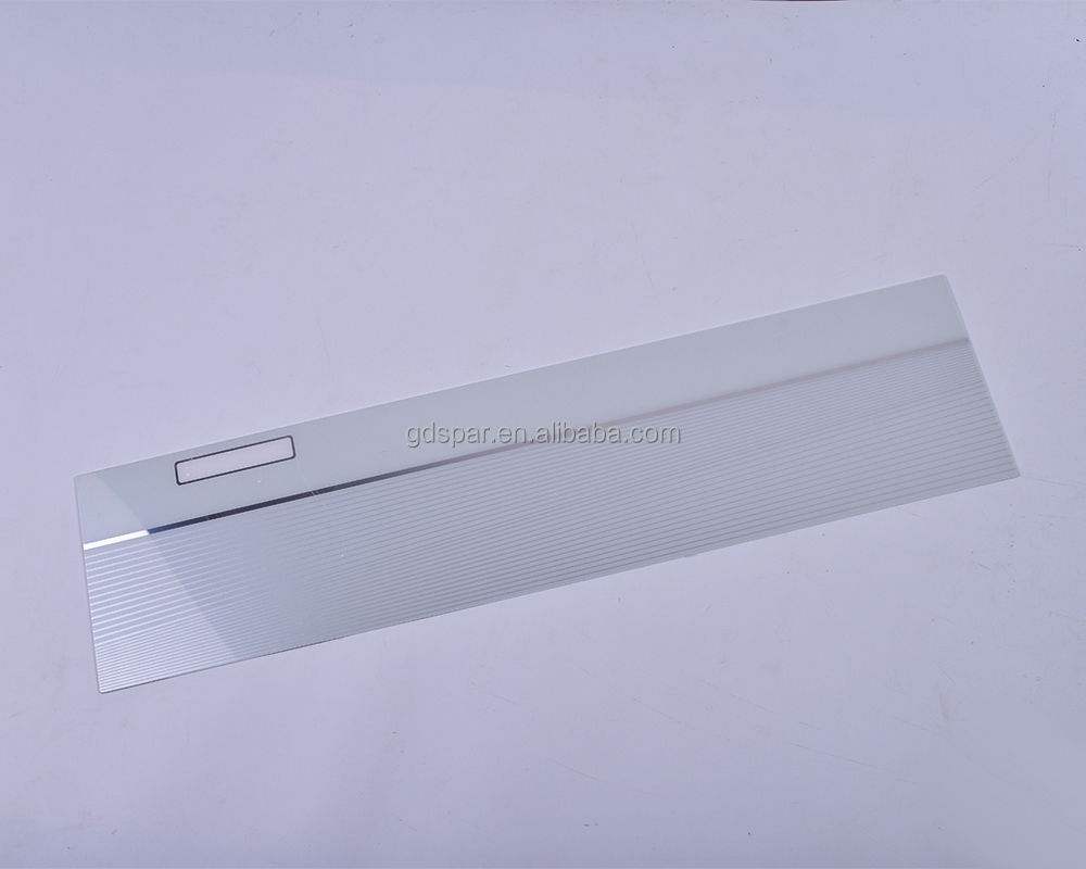 flat surface colorful air conditioner plastic front panel