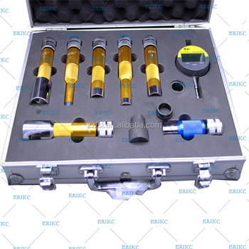 ERIKC common rail diesel injector repair tools CR injector multifunction test kit Fuel injector lift measuring tool