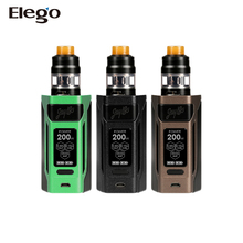New Products 2017 Electronic Cigarette Kit! 200W Wismec Reuleaux RX2 20700 With GNOME Full Kit