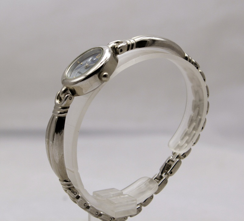 Round thai silver ladies bracelet watch, hot new products for 2015