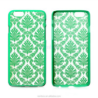 New Arrival Flower Carved Hard Protector Shell Back Case Plastic Cover for iPhone 5 5s