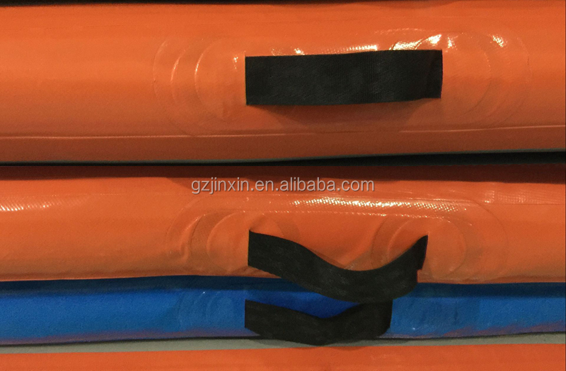 Home Used Airtrack Training Set 5pcs Inflatable Gymnastics Tumble Spring Board Air Roller Mat 3m Orange Kids Tumbling Air Track