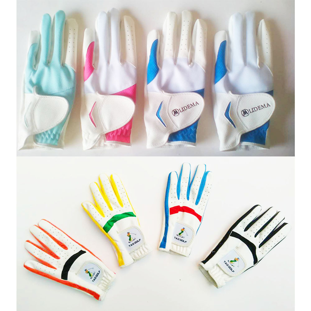 EVERIO GOLF cabretta leather golf gloves cheap moisture breathable antiskid custom made golf gloves