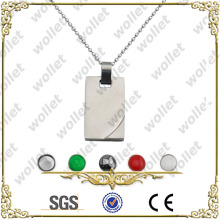 2014 popular new product Stainless Steel blank maagnetic pendants
