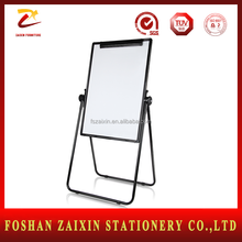 Factory Price folding magnetic white board Double side drawing writing board