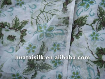 Linen Fabric Wholesale in printing (0708023)