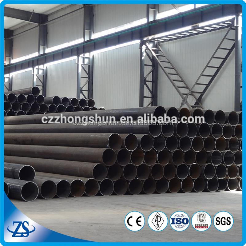 erw carbon steel pipe stock list for metal building materials