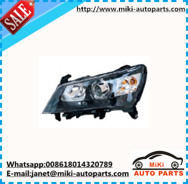 black headlight for geely emgrand EC7 2010 2011 2012 2013 auto spare parts
