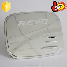 ABS Chromed Tank Cover For Toyota Hilux New Revo 2015 Fuel Tank Cap Best Selling Gas Cap in Cars exterior 4x4 accessories