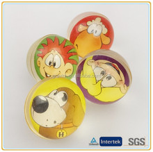 32mm Paper Card Jumping Ball for promotion