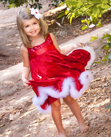 Kids Christmas Girls Birthday Dresses, Dresses For Girls Of 7 Years Old, Girls Party Dresses