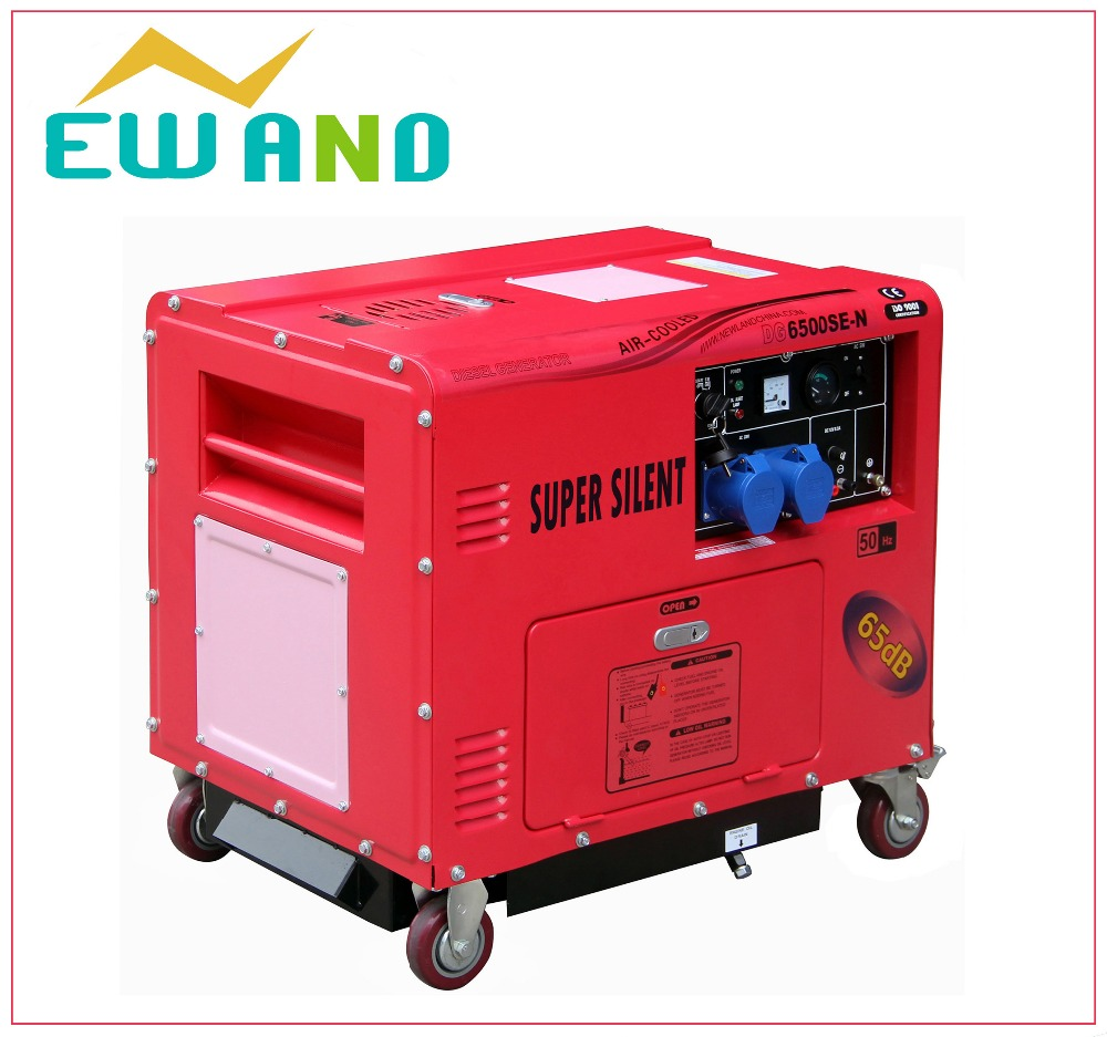 kw 6500 generator soundproof engine machine 186f super silent generator prices
