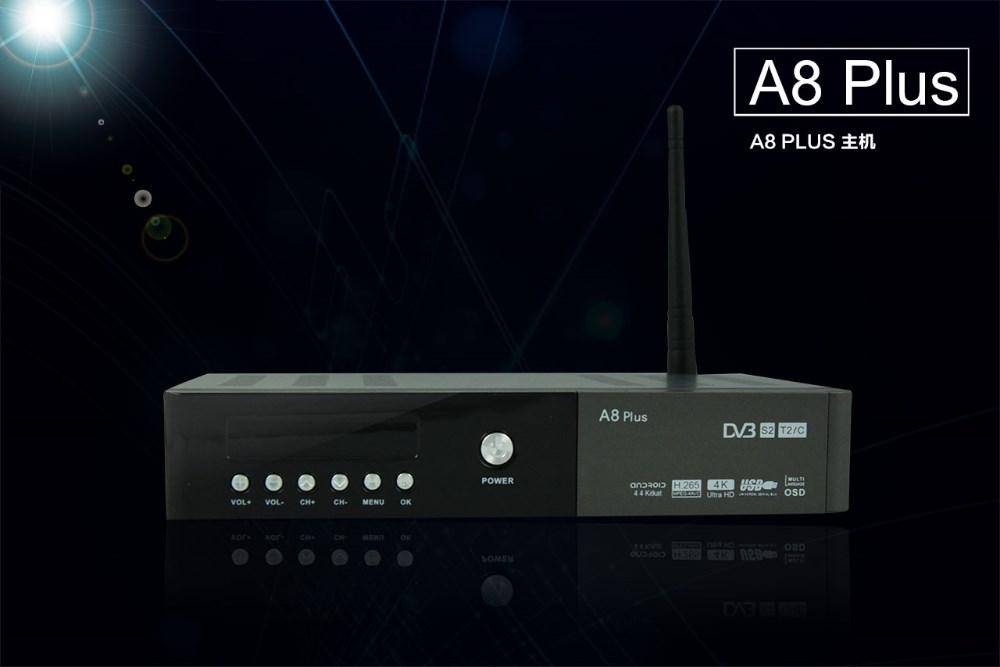 New Premium South America Acm Vcm A8 Plus Combo Dvb-s2+t2+c Tv ...