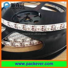 5m/roll, 5VDC white PCB IP40 80LEDs/m programmable ws2812B LED strip