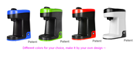 3.5 bar single serve coffee maker multi capsule coffee machine