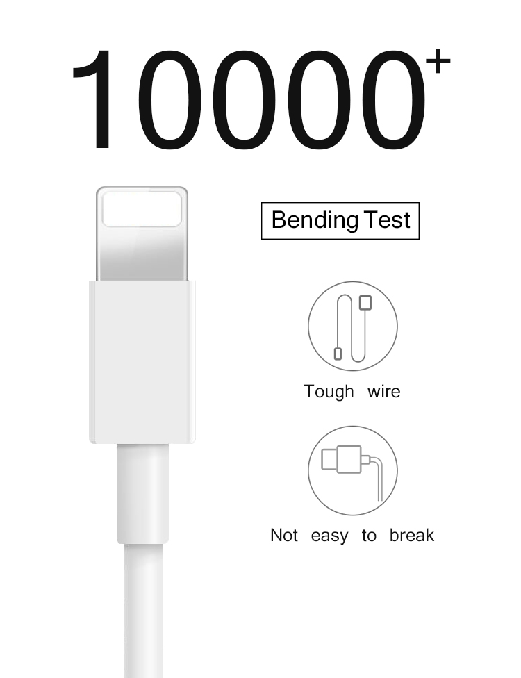 High Speed Wholesale 1M  Original Micro USB Data Cable for Iphone