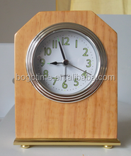 Good Quality Hotel Decor Classical Wooden Wall Special Alarm Clocks