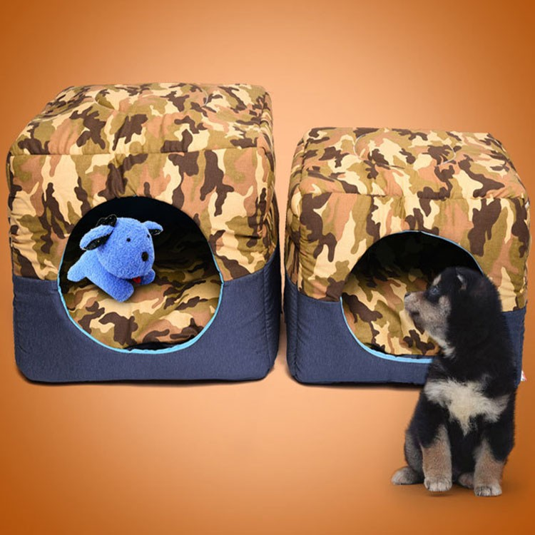 Foldable Warm Square Pet Dogs House
