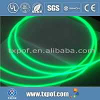2.0mm PMMA Plastic Optic Fiber Light in decaration and illumination