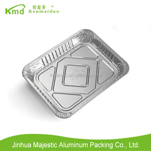 2016 Deep 325mm Food Packaging Disposable Aluminum Foil Trays