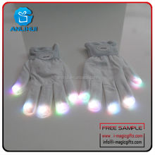 Shenzhen manufacturer Party supplies Led Gloves with Customized Logo