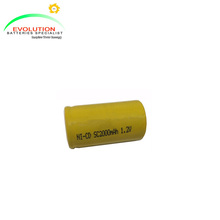 NiCd battery Sub-C 2000mAh 1.2V
