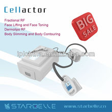 tripolar rf+vacuum radio frequency lose weight lipo reduction for home use-Cellactor
