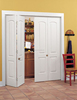 Molded Type Closet Wardrobe Folding Doors
