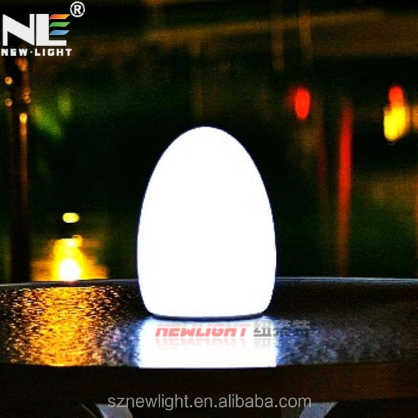 classical led table lamp /remote control led battery pot light / rechargeable battery led table lamp